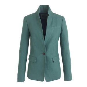 J.Crew Linen Regent blazer in autumn bluegrass 8